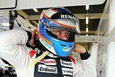 Formel 1 - Bottas bestreitet Young Driver Test