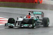 Formel 1 - Schumacher: Sehr glücklich mit P3