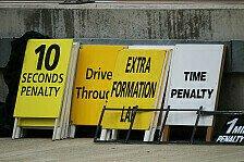 Formel 1 - Saison 2014: 50 Prozent mehr Strafen als 2012