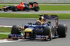 Formel 1 - Silverstone: Webber bezwingt Alonso