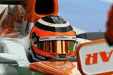 Formel 1 - Force India hakt Silverstone ab