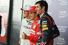 Formel 1 - Webber: In Q3 alles aufs Spiel setzen