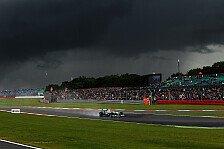 Formel 1 - Wetter Silverstone: Regengefahr im Qualifying