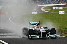 Formel 1 - Schumacher: Regen ist eine gute Chance