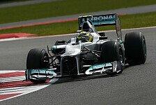 Formel 1 - Mercedes: Enttäuschung in Silverstone