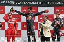 Formel 1 - Jones: Webber auf dem Weg zum Titel