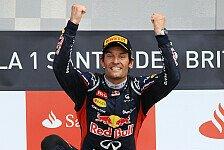 Formel 1 - Webber: Karriereende nicht in Sicht