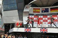 Formel 1 - WM-Stand nach Silverstone: Wer rechnet schon?