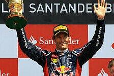 Formel 1 - Webber verlängert bei Red Bull