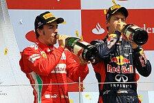 Formel 1 - Vettel vs. Alonso