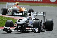 Formel 1 - Sauber hofft auf Weiterentwicklungen