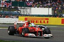 Formel 1 - Massa: Alonso braucht mich für WM