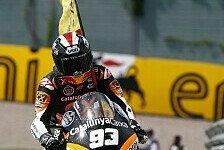 Moto2 - Marquez setzt auf schnelle Kurvendurchfahrt