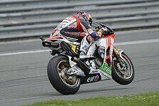 MotoGP - Kein perfekter Tag für Bradl