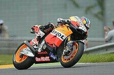 MotoGP - Pedrosa mit Startschwierigkeiten