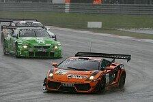 ADAC GT Masters - Leipert-Gallardo stark bei schwierigen Bedingungen