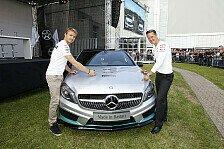 Formel 1 - Schumacher & Rosberg mit Werksbesuch