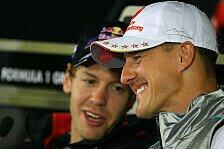 Formel 1 - Vettel will mit Schumacher sprechen