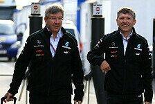 Formel 1 - Brawn: Zwei produktive Sessions