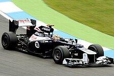 Formel 1 - 2. Training: Regen schenkt Maldonado Bestzeit