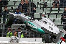 Formel 1 - Schumacher nimmt Schuld auf sich