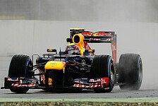 Formel 1 - Webber: Unwirkliche Bedingungen im Training