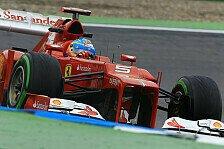Formel 1 - 3. Freies Training: Alonso Schnellster