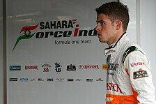 Formel 1 - Di Resta mit wenigen Kilometern