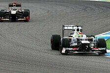 Formel 1 - Perez für Blocken bestraft: 5 Plätze zurück