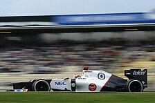 Formel 1 - Sauber rechnet sich Chancen in Ungarn aus