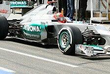 Formel 1 - Schumacher: Schöne Ausgangsposition