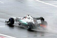 Formel 1 - Schumacher: Bei Regen mindestens Podest möglich