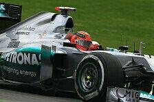 Formel 1 - Ernüchterung bei Mercedes