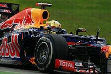 Formel 1 - Vettel: Ich sah Button nicht