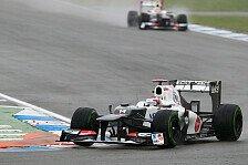 Formel 1 - Perez freut sich über den sechsten Platz
