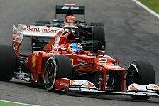 Formel 1 - Rennen: Alonso siegt in Hockenheim