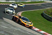 VLN - Dörr Motorsport beeindruckt mit dem McLaren