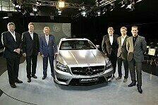 Auto - Schumacher und Rosberg stellen CLS 63 AMG vor