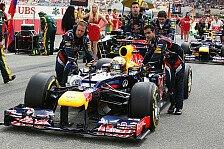 Formel 1 - Red-Bull muss Motoren-Mapping wohl ändern