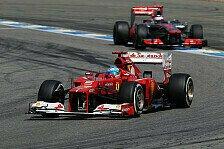 Formel 1 - Button prophezeit Alonso harte Arbeit