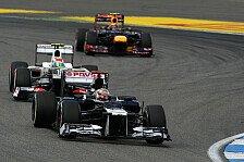 Formel 1 - Perez & Maldonado legen Streit bei