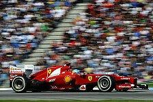 Formel 1 - Alonso: Vor McLaren ins Ziel kommen