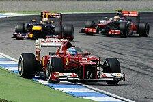 Formel 1 - Alonso: Hauptrivalen klar