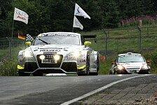 VLN - Hattrick für race&event-Audi-TT-RS