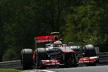 Formel 1 - Qualifying: Hamilton holt souveräne Ungarn-Pole