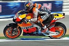 MotoGP - Pedrosa glücklich mit neuem Bike