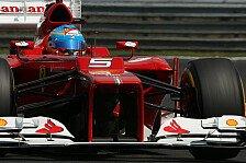 Formel 1 - Alonso hofft auf Regen in Spa