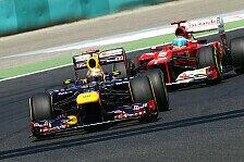 Formel 1 - Horner widerspricht Alonso: Ferrari doch Favorit