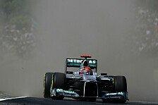 Formel 1 - Schumacher: Maldonado hat Runde kaputt gemacht