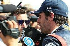 Formel 1 - Webber von der Konkurrenz gelangweilt